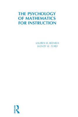 Psychology of Mathematics for Instruction - Resnick, Lauren B