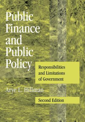 Public Finance and Public Policy - Hillman, Arye L