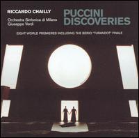 Puccini Discoveries - Alberto Mastromarino (baritone); Bülent Bezdüz (vocals); Carlo Bosi (vocals); Chiara Taigi (soprano); Dario Volonté (vocals);...