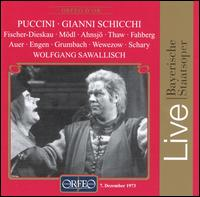Puccini: Gianni Schicchi - Albrecht Peter (vocals); Antonia Fahberg (vocals); Claes-Håkan Ahnsjo (vocals); David Thaw (vocals);...