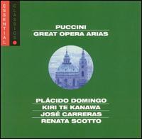 Puccini: Great Opera Arias - Eva Marton (soprano); Gillian Knight (mezzo-soprano); José Carreras (tenor); Katia Ricciarelli (soprano);...