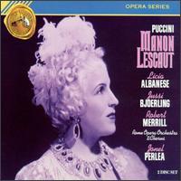 Puccini: Manon Lescaut - Anna Maria Rota (mezzo-soprano); Enrico Campi (bass); Franco Calabrese (vocals); Jussi Björling (tenor);...