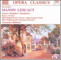 Puccini: Manon Lescaut - Donald George (tenor); Henk Lauwers (bass); Kaludi Kaludov (tenor); Lucienne Van Deyck (mezzo-soprano);...