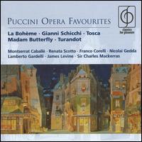 Puccini Opera Favourites - Alfredo Kraus (tenor); Amy Shuard (soprano); Antonietta Stella (soprano); Bernabe Marti (tenor); Charles Craig (tenor);...