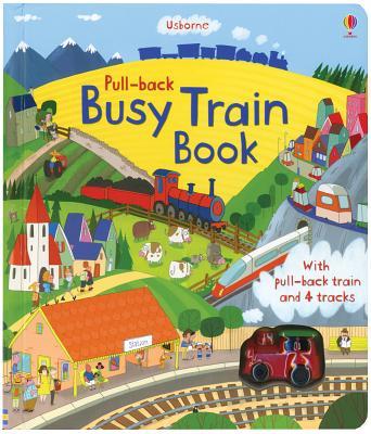 Pull-Back Busy Train - Watt, Fiona