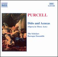 Purcell: Dido and Aeneas - Angus Davidson (counter tenor); Anna Crookes (soprano); Colin Campbell (bass); David Gould (counter tenor);...