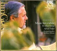 Purcell: Music for a While - Alfred Deller (basse de viole); Jane Ryan (basse de viole); Robert Elliott (organ); Roderick Skeaping (baroque violin);...