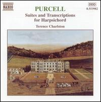 Purcell: Suites and Transcriptions for Harpsichord - Terence Charlston (harpsichord)
