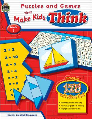 Puzzles and Games That Make Kids Think, Grade 1 - Sundem, Garth