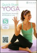 Quick Start Yoga -