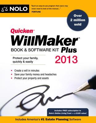 Quicken WillMaker Book & Software Kit Plus - Nolo Press (Creator)