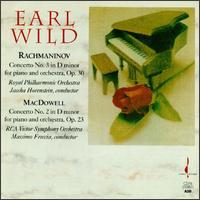 Rachmaninov: Concerto No. 3; MacDowell: Concerto No. 2 - Earl Wild (piano)
