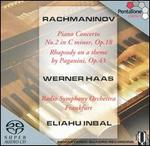Rachmaninov: Piano Concerto No. 2; Rhapsody on a Theme by Paganini