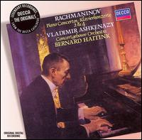 Rachmaninov: Piano Concertos Nos. 2 & 4 - Vladimir Ashkenazy (piano); Royal Concertgebouw Orchestra; Bernard Haitink (conductor)