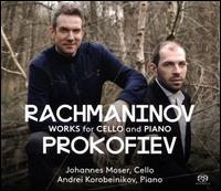 Rachmaninov, Prokofiev: Works for Cello and Piano - Andrei Korobeinikov (piano); Johannes Moser (cello)