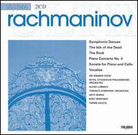 Rachmaninov: Symphonic Dances; Piano Concerto No. 4; etc. - Alexei Lubimov (piano); Arto Noras (cello); Eero Heinonen (piano); Tapani Valsta (organ)