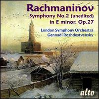 Rachmaninov: Symphony No. 2 in E minor, Op. 27 - Andrew Marriner (clarinet); London Symphony Orchestra; Gennady Rozhdestvensky (conductor)