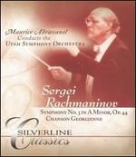 Rachmaninov: Symphony No. 3 in A minor, Op. 44; Chanson Georgienne [DVD Audio]