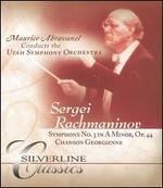 Rachmaninov: Symphony No. 3 in A minor, Op. 44; Chanson Georgienne [DVD Audio]