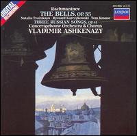 Rachmaninov: The Bells; 3 Russian Songs - Natalia Troîtskaya (soprano); Ryszard Karcykowski (tenor); Tom Krause (baritone); Royal Concertgebouw Chorus (choir, chorus);...