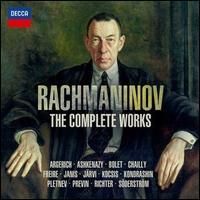 Rachmaninov: The Complete Works - Alastair Mackie (trumpet); Alexander Ghindin (piano); Alexander Ranne (tenor); Alexis Weissenberg (piano);...
