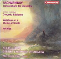 Rachmaninov: Transcriptions for Orchestra - Alan Kogosowski (piano); Detroit Symphony Orchestra; Neeme Järvi (conductor)