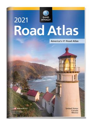 Rand McNally 2021 Road Atlas with Protective Vinyl Cover - Rand McNally