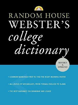 Random House Webster's College Dictionary - Random House (Creator)