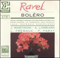 Ravel: Boléro - György Sebök (piano); Jean-Max Clement (cello); Pierre Amoyal (violin)