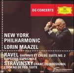 Ravel: Daphnis et Chloé: Suite No. 2; Rapsodie Espagnole; Stravinsky: Chant du Rossignol; L'Oiseau de Feu: Suite