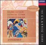 Ravel, Honegger, Dukas, Chabrier, Debussy