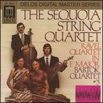Ravel: Quartet in F major; Bartok: Quartet #3