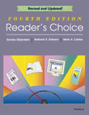 Reader's Choice, 4th Edition - Silberstein, Sandra, and Clarke, Mark A, and Dobson, Barbara K