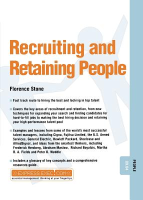 Recruiting and Retaining People - Stone