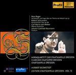Reger: Variationen und Fuge; Schumann: Konzerstück, Op. 86; Weber: Oberon Overtüre; etc
