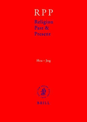 Religion Past and Present, Volume 6 (Hea-Jog) - Betz, Hans Dieter, and Browning, Don S., and Janowski, Bernd