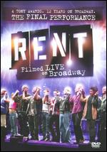 Rent: Filmed Live on Broadway [WS] - Michael John Warren