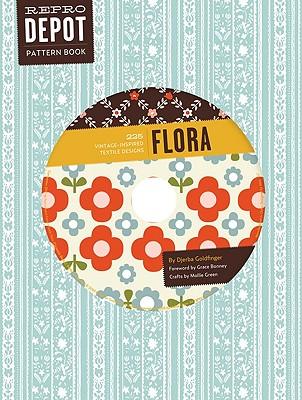 Reprodepot Pattern Book: Flora: 225 Vintage-Inspired Textile Designs - Goldfinger, Djerba