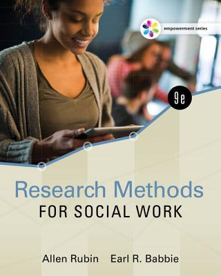 Research Methods for Social Work - Rubin, Allen, and Babbie, Earl