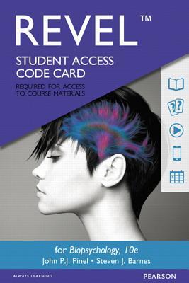 Revel for Biopsychology -- Access Card - Pinel, John P J