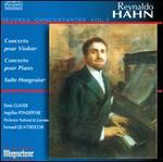 Reynaldo Hahn: Oeuvres Concertantes, Vol. 1