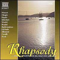 Rhapsody - Accademia Ziliniana; Anna Hölbling (violin); Anthony Camden (oboe); Bertalan Hock (organ); Daniela Ruso (harpsichord);...