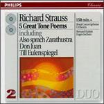 Richard Strauss: 5 Great Tone Poems - Herman Krebbers (violin); Royal Concertgebouw Orchestra