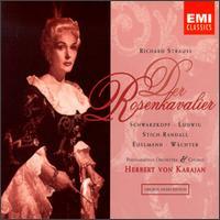 Richard Strauss: Der Rosenkavalier - Christa Ludwig (vocals); Eberhard Wächter (baritone); Elisabeth Schwarzkopf (soprano); Kerstin Meyer (vocals);...
