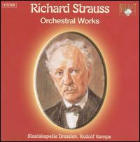Richard Strauss: Orchestral Works - Malcolm Frager (piano); Manfred Clement (oboe); Manfred Weise (clarinet); Max Rostal (viola); Paul Tortelier (cello);...