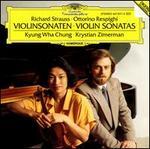 Richard Strauss, Ottorino Respighi: Violinsonaten