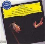 Richard Strauss: Vier letzte Lieder; Tod und Verklärung