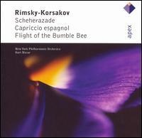 Rimsky-Korsakov: Scheherazade; Capriccio Espagnol; Flight of the Bumblebee - Glenn Dicterow (violin); New York Philharmonic; Kurt Masur (conductor)
