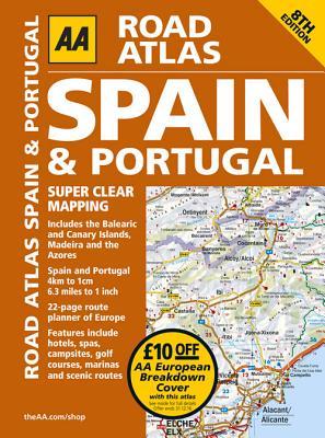 Road Atlas Spain & Portugal - Aa Publishing