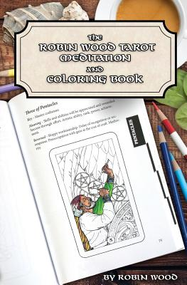 Robin Wood Tarot Coloring Book - Wood, Robin